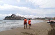 Peníscola obre les seues platges amb baixa ocupació i ambient tranquil