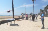 Peníscola controlarà l'aforament de les seues platges amb dron i intel·ligència artificial