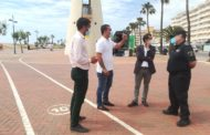 Peníscola dona prioritat als vianants en el Passeig Marítim i senyalitza els itineraris i distàncies de seguretat