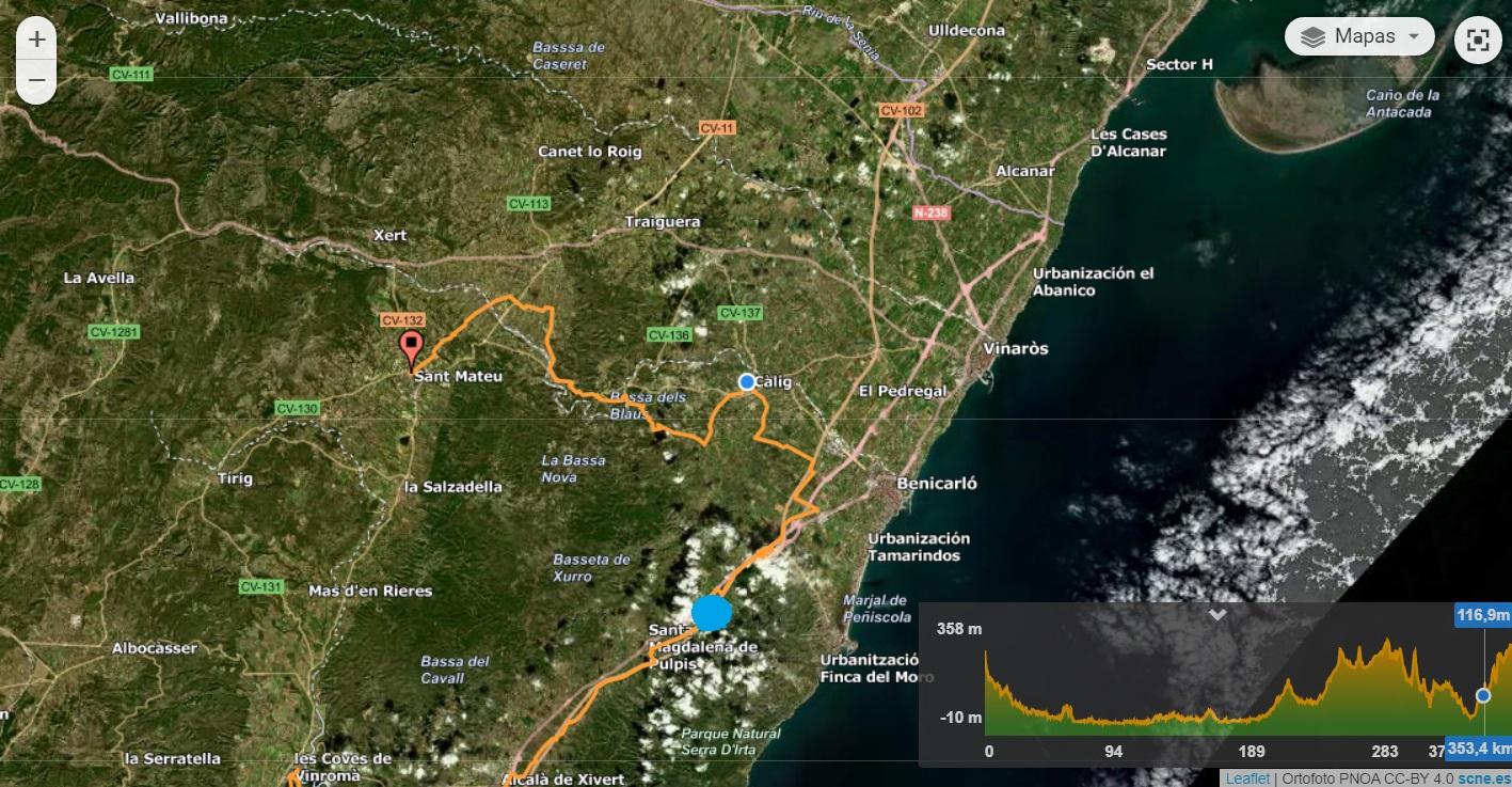 Camins de l´Orde de Montesa inclou a Santa Magdalena en la seua ruta per la Comunitat Valenciana