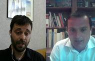 Guillem Alsina i Andrés Martínez, alcalde de Vinaròs i Peníscola, respectivament, en L'Entrevista de C56