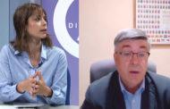 Laura Catalán, doctora en Medicina i Farmàcia, i Evaristo Martí, alcalde de Rossell, a L'ENTREVISTA de C56