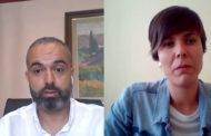Joan Roig, alcalde d'Alcanar, i Susana Sanz, alcaldessa de Xert, a L'ENTREVISTA de C56