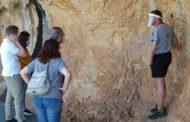 Tornen les visites als abrics de pintures rupestres de Tírig