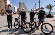 Vinaròs adquireix dues bicis elèctriques per a la Policia Local