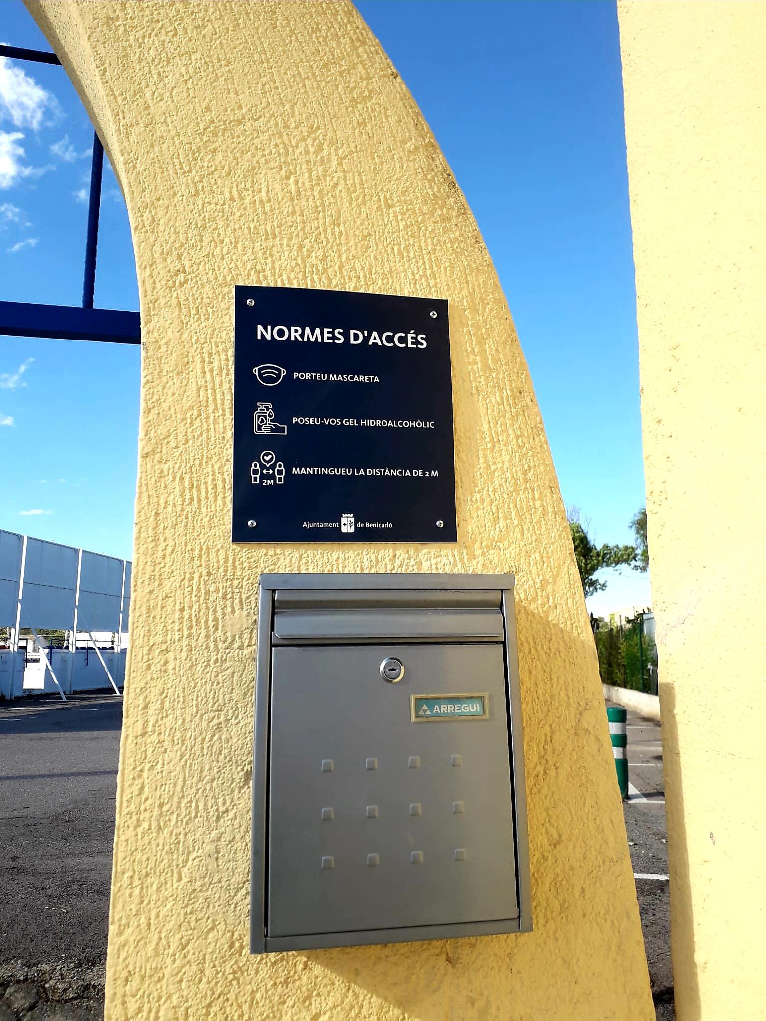 El camp de futbol, l'annex del Pavelló i la Pista de Ciclisme de Benicarló tornen a obrir les portes