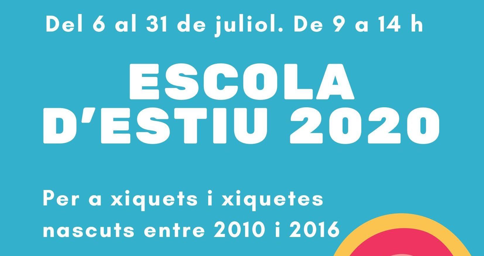 Serveis Socials i Esports de Benicarló unifiquen l'oferta d'estiu per a xiquets i xiquetes de 3 a 16 anys