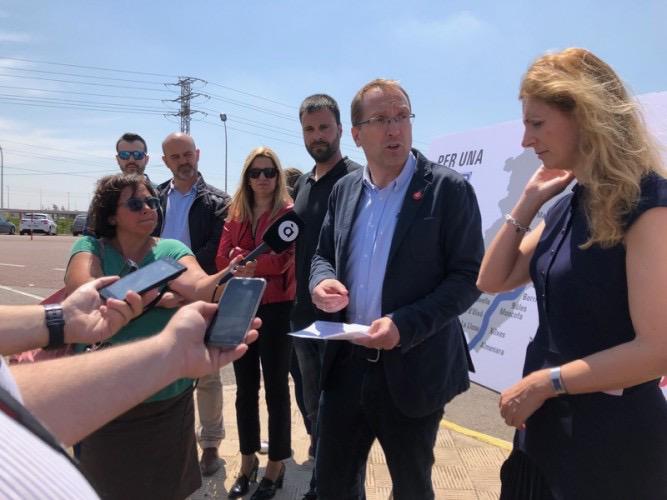Blanch (PSPV-PSOE) destaca l'autopista lliure i gratuïta com a factor clau per a facilitar l'arribada de turistes