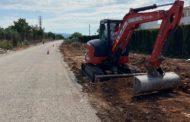 L'Ajuntament inicia l'ampliació i millora de la carretera que uneix Panoràmica Golf i Sant Jordi
