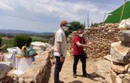 Comencen les obres de restauració i revalorització al Puig de la Nau de Benicarló