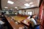 Alcalà de Xivert. Signatura del conveni entre l'Ajuntament  d'Alcalà de Xivert i l'empresa que gestiona el COVID-WATER 15-07-2020