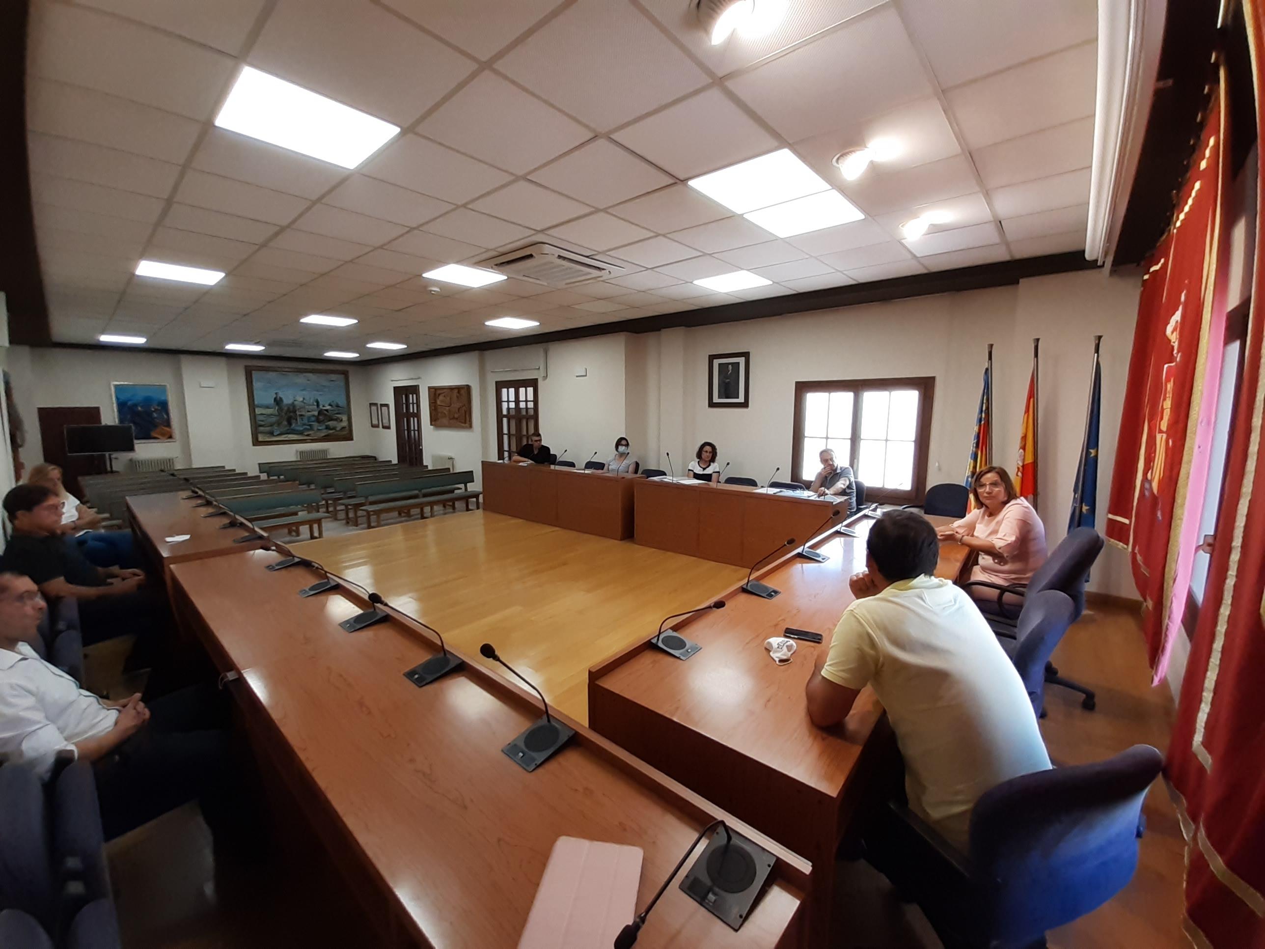 Primera reunió a Benicarló per a concretar la rotonda a la 340a amb la Ratlla del Terme