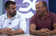 David Vicente i Heredio Bellés, alcaldes de La Torre d'En Besora i Culla, a L'ENTREVISTA de C56