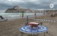 Peníscola; Presentació del dispositiu de seguretat de platges de Peníscola 03-07-2020