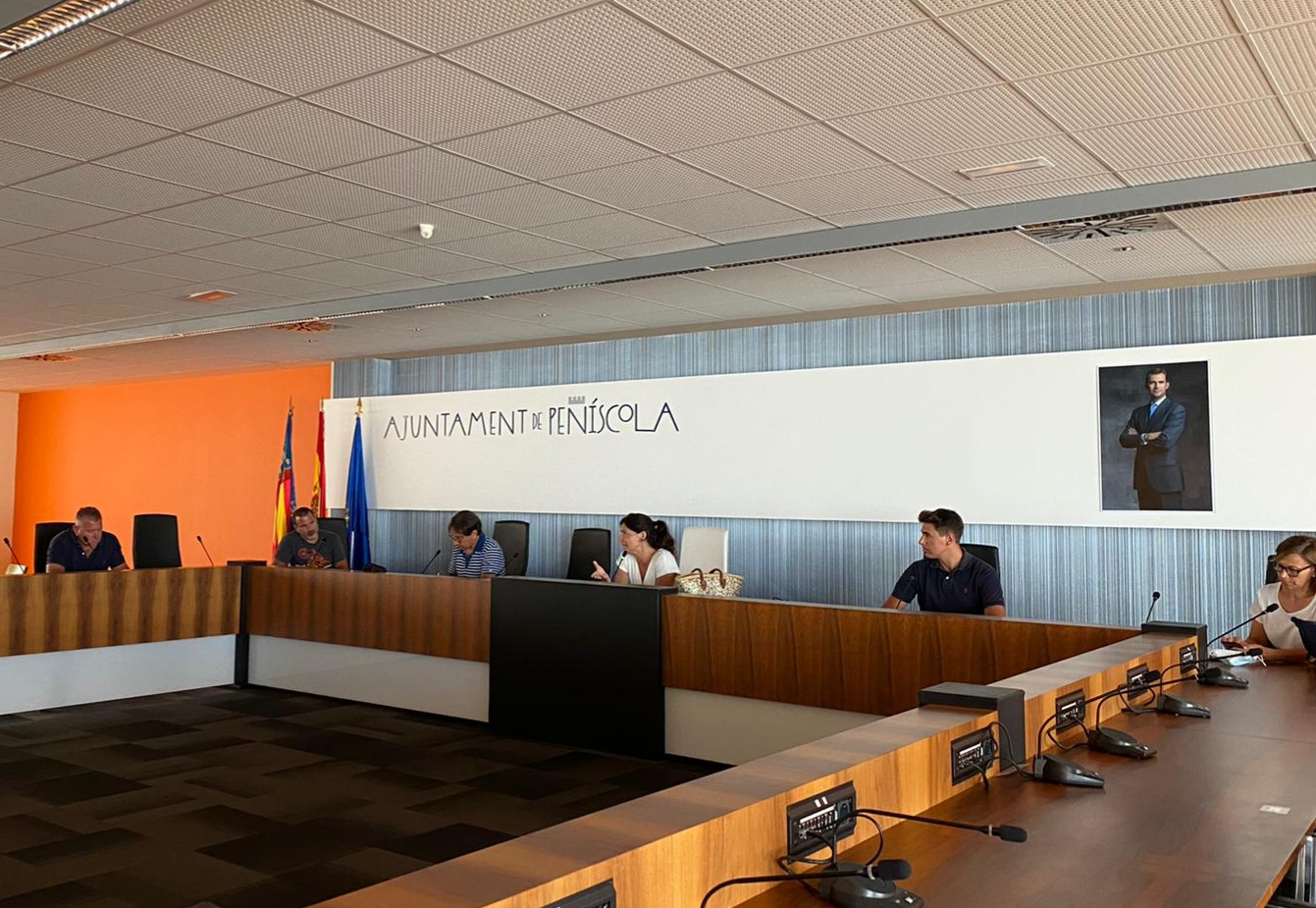 Els departaments de l'Ajuntament de Peníscola atendran a partir del dilluns de manera presencial i amb cita prèvia