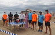 Les platges de Peníscola continuen amb una ocupació mitjana i sense saturació en els primers dies de juliol