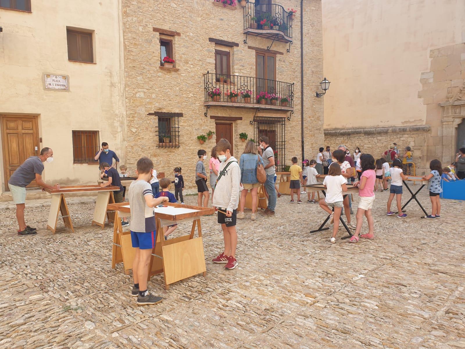 """Vilafranca inaugura """"Un món de joc"""" amb una sessió de jocs"""