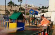 Continuen les rutines de neteja i desinfecció d'espais infantils a Peníscola