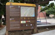 El Parc Natural de la Serra d'Irta instal·la nous panells informatius a Santa Magdalena