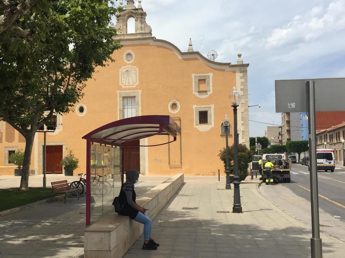 ERPV-Benicarló constata  la realitat actual del servei d'autobusos