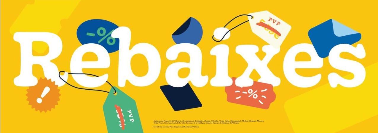 L'Ajuntament de Vinaròs facilita material gràfic per a la campanya de rebaixes