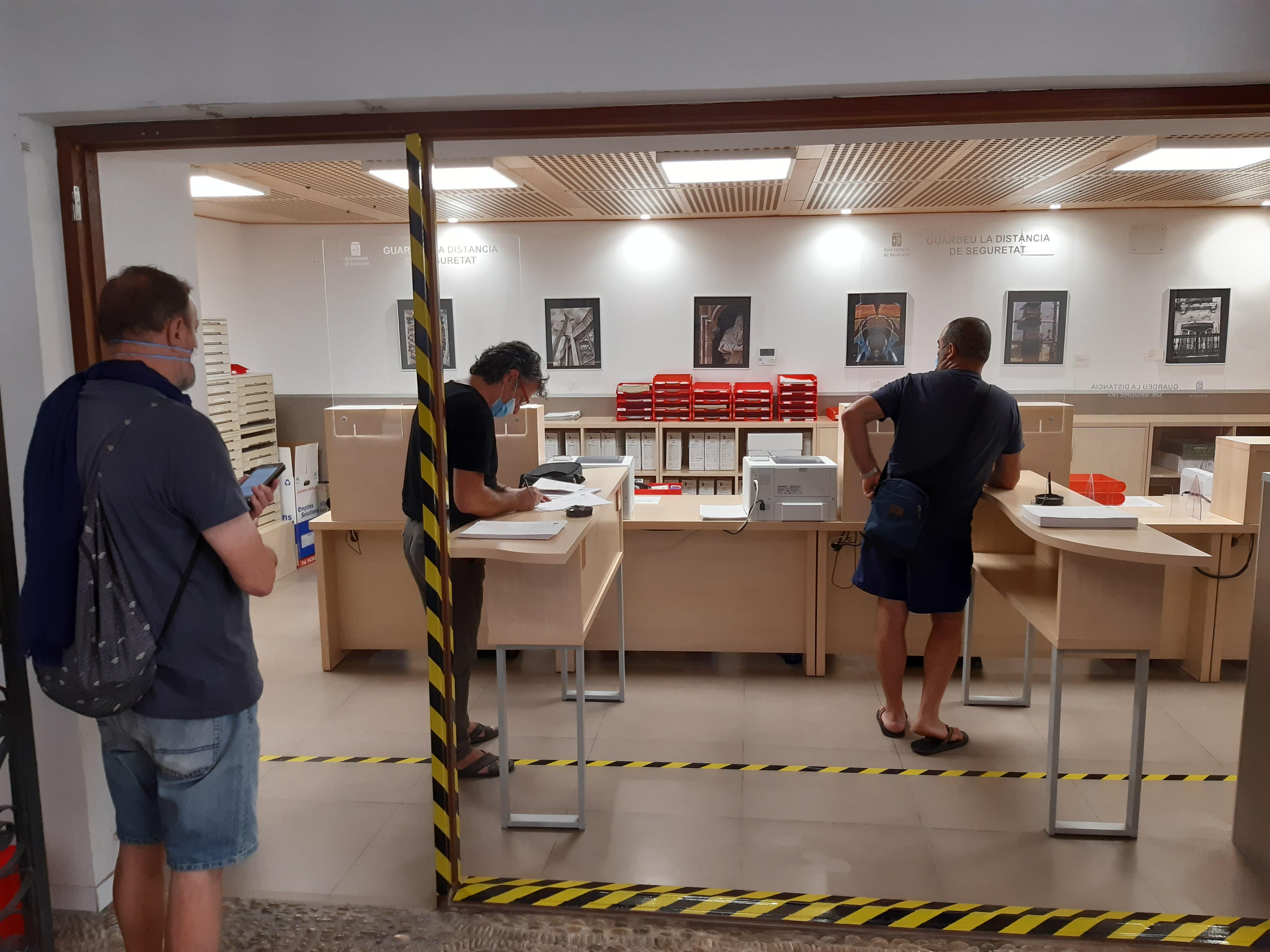 L'Ajuntament de Benicarló ha tramitat 812 certificats digitals només durant l'estat d'alarma