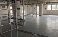 Les obres de l'Edifici Social de Santa Magdalena entren ja en la fase final