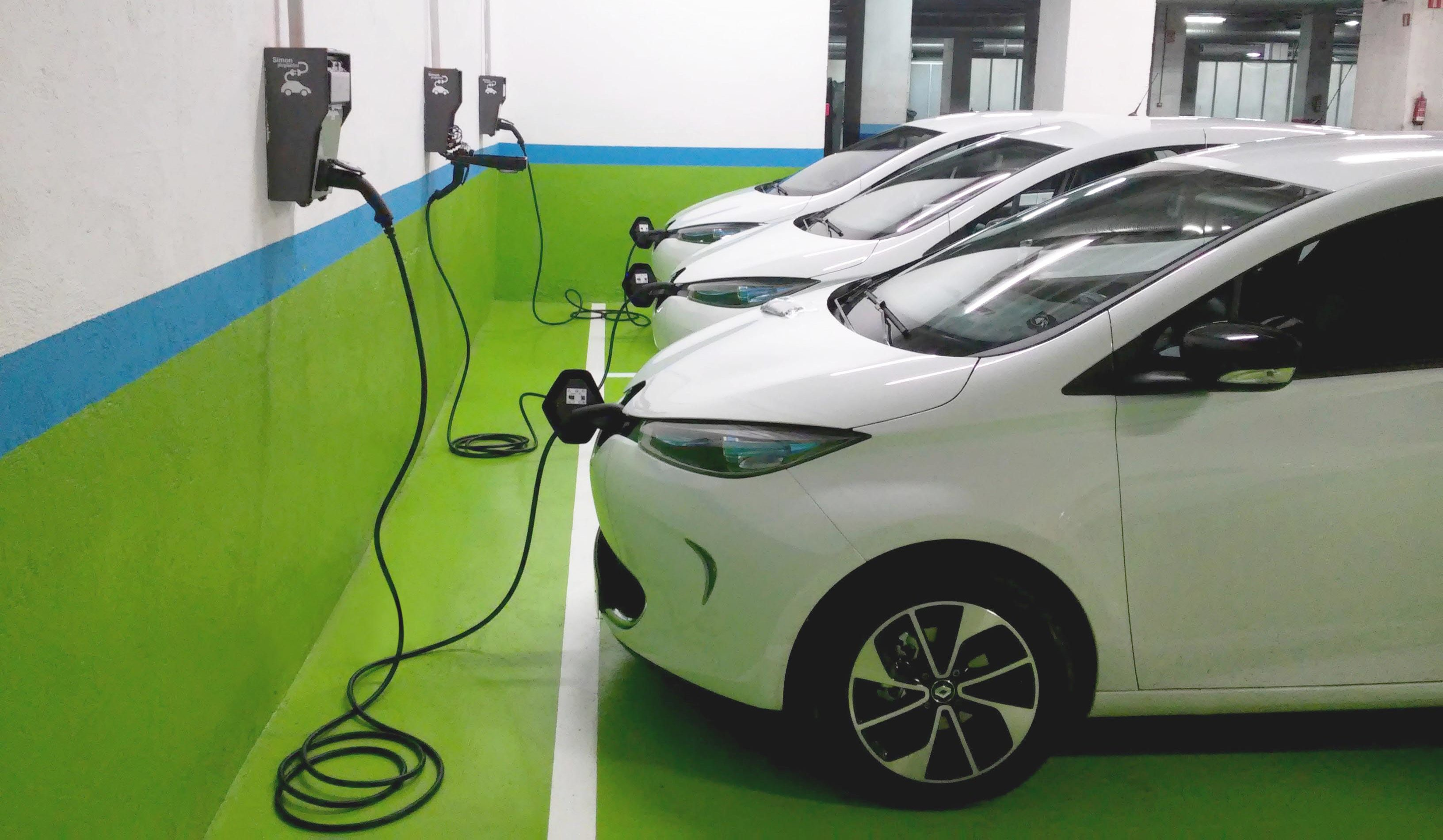 Santa Magdalena tindrà un punt de càrrega de cotxes elèctrics
