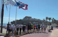Peníscola; Hissada de la bandera Qualitur a Peníscola 10-07-2020