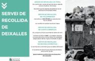Vinaròs 'demana civisme' davant de l'abocament irresponsable de residus