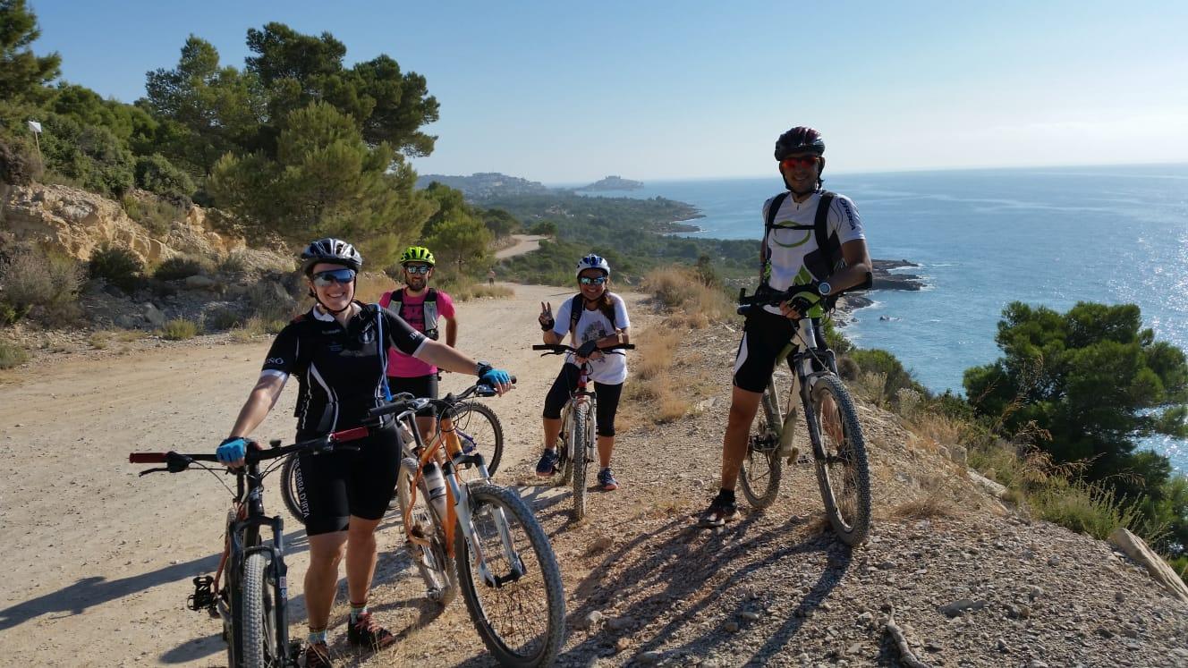 La Regidoria d'Esports d'Alcalà-Alcossebre continua potenciant les rutes senderistes i de BTT pel terme