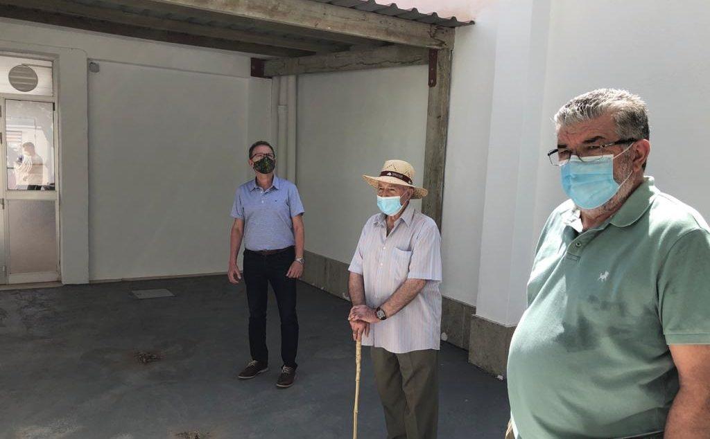 La renovació del Centre de Jubilats d'Alcalà es completa amb un nou accés i la millora d'instal·lacions