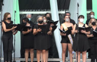 Benicarló; Concert de la Coral Polifònica Benicarlanda al pati del col.legi La Salle 25-08-2020