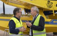 Martí destaca l'aposta de l'aeroport per reforçar la seua activitat industrial per a activar l'economia de l'entorn