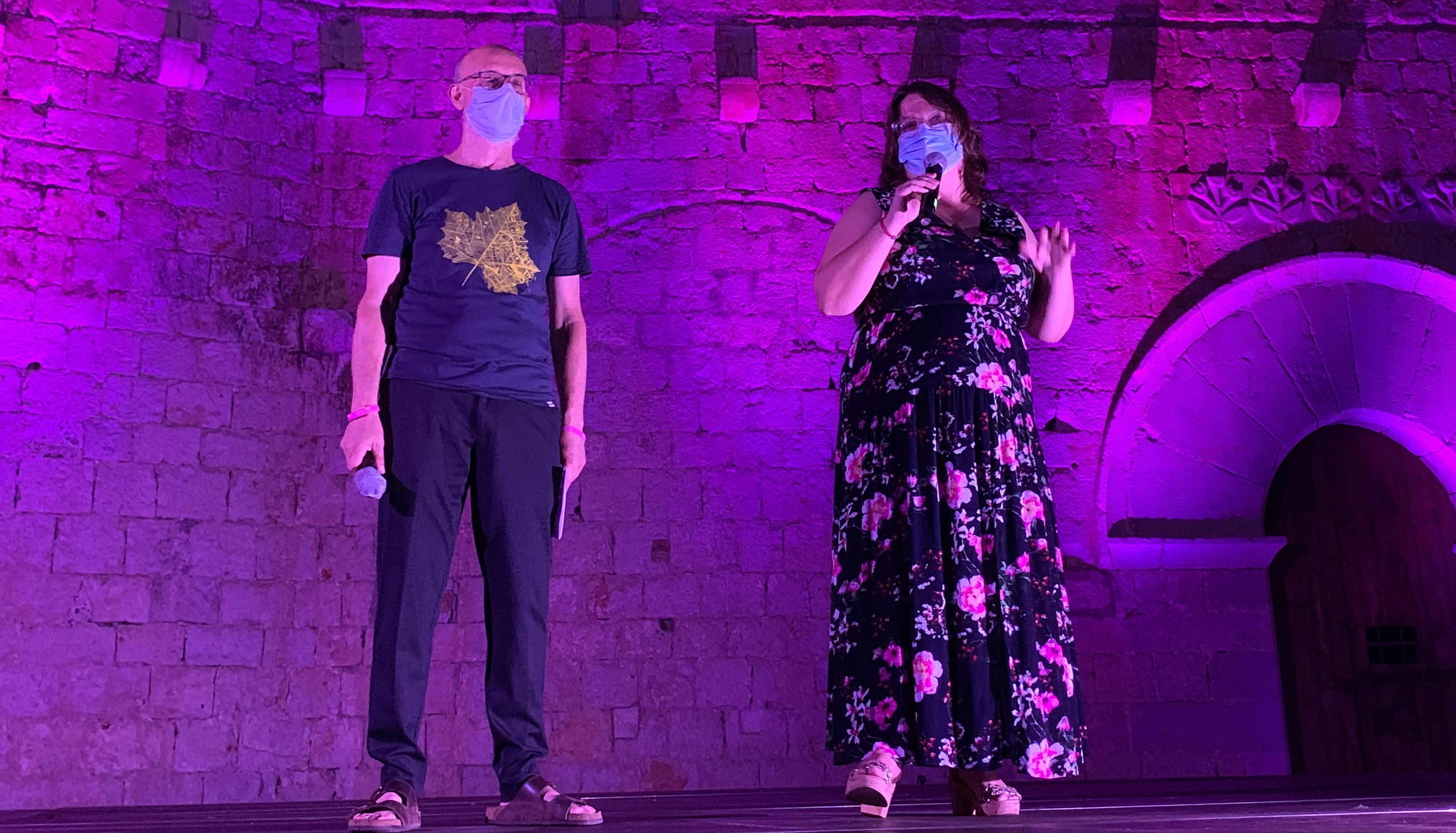 Ruth Sanz destaca el 'ple total' de les huit jornades del XIII Festival de Teatre Clàssic de Peníscola