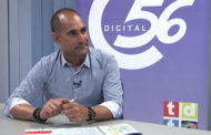 Javier Ferrer, alcalde de Traiguera, en el programa L'ENTREVISTA de C56