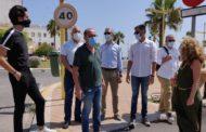 El conseller España anuncia a Vinaròs 136.000 euros per al dic de ponent i una rotonda a l'antiga N-340
