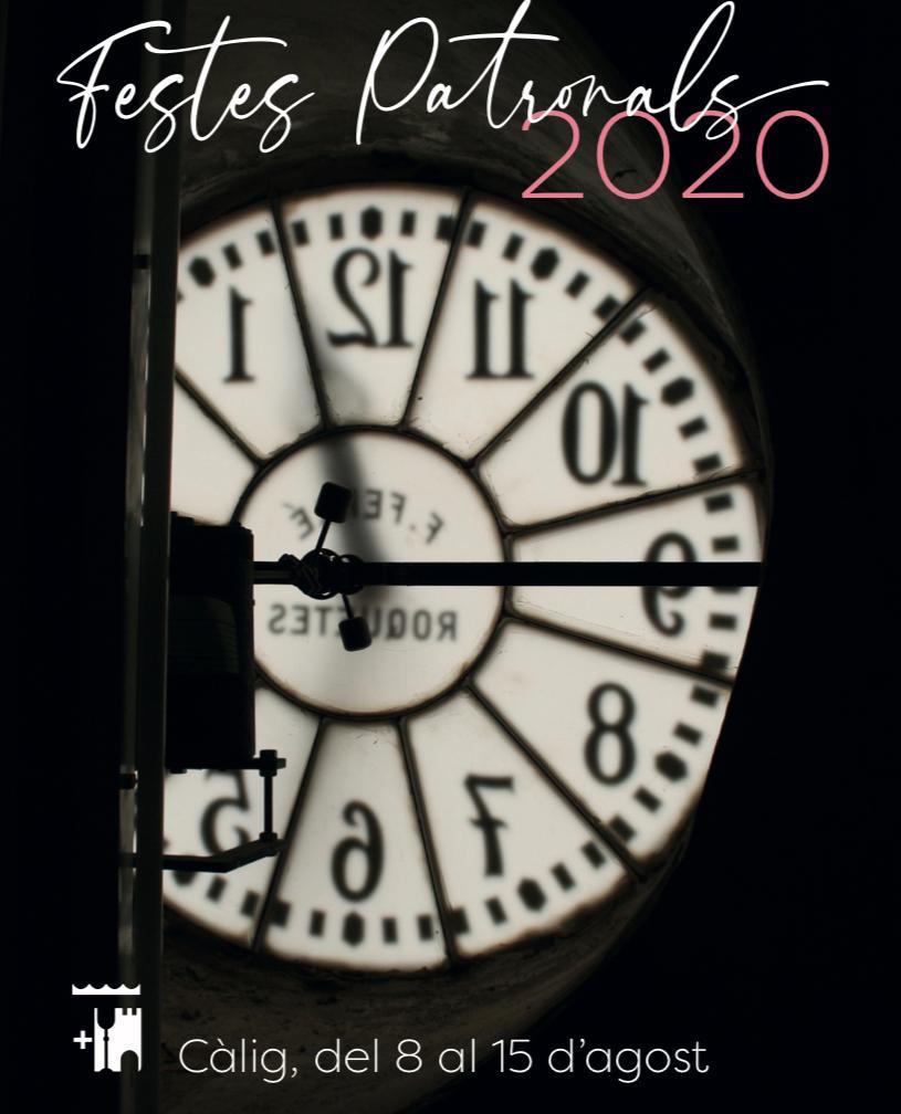 Càlig presenta la programació cultural de les Festes Patronals 2020