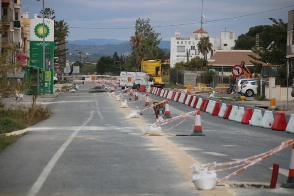 L'Ajuntament de Benicarló està estudiant diverses alternatives si les obres de bulevard no es reinicien