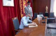 Vinaròs; visita del Conseller Arcadi España 13-08-2020