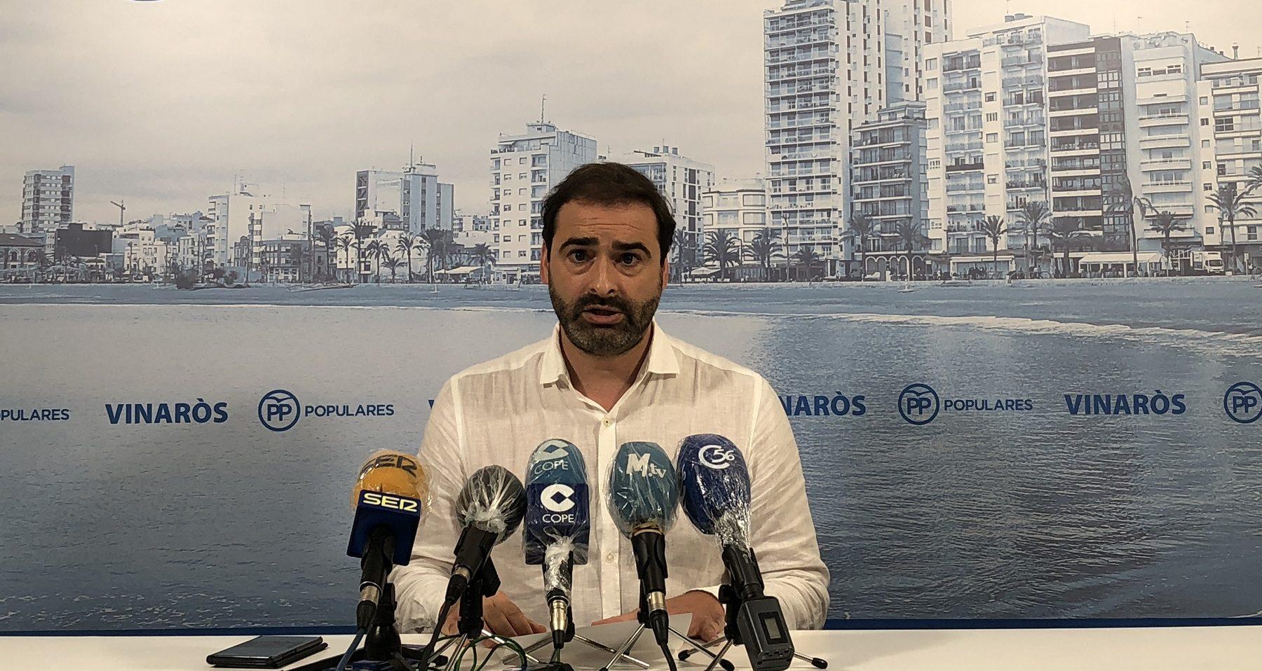 El PP de Vinaròs demana una comissió d'investigació sobre la unidireccionalitat de la costa sud