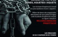 Vinaròs se suma al Dia Internacional contra el Tràfic i l'Explotació Sexual de Dones, Xiquetes i Xiquets