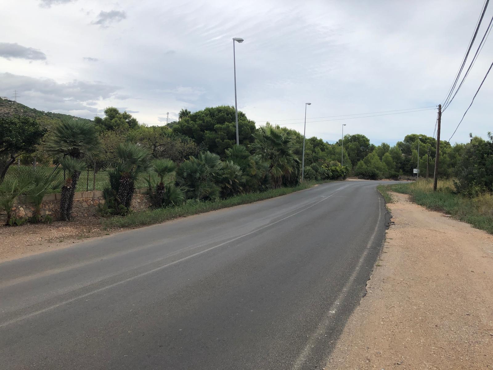 L'Ajuntament d'Alcalà-Alcossebre licita l'obra de millora de la carretera de les Fonts