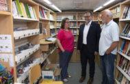 Martí anuncia que el Bibliobús de la Diputació reprén l'activitat demà dilluns amb un estricte protocol