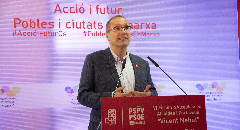 El PSPV-PSOE de la província de Castelló se suma a la manifestació per un finançament just