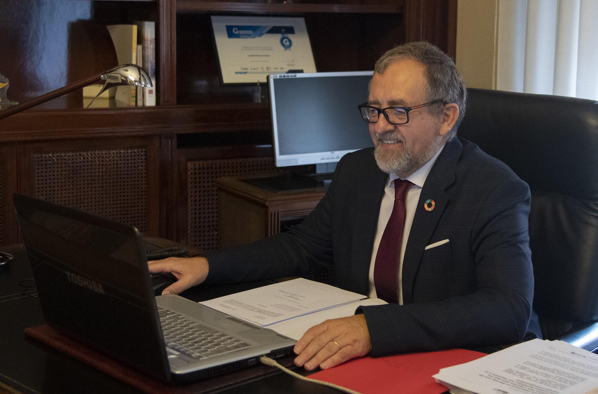 El president de la Diputació participa en el Consell de Govern del Consorci Hospitalari Provincial de Castelló