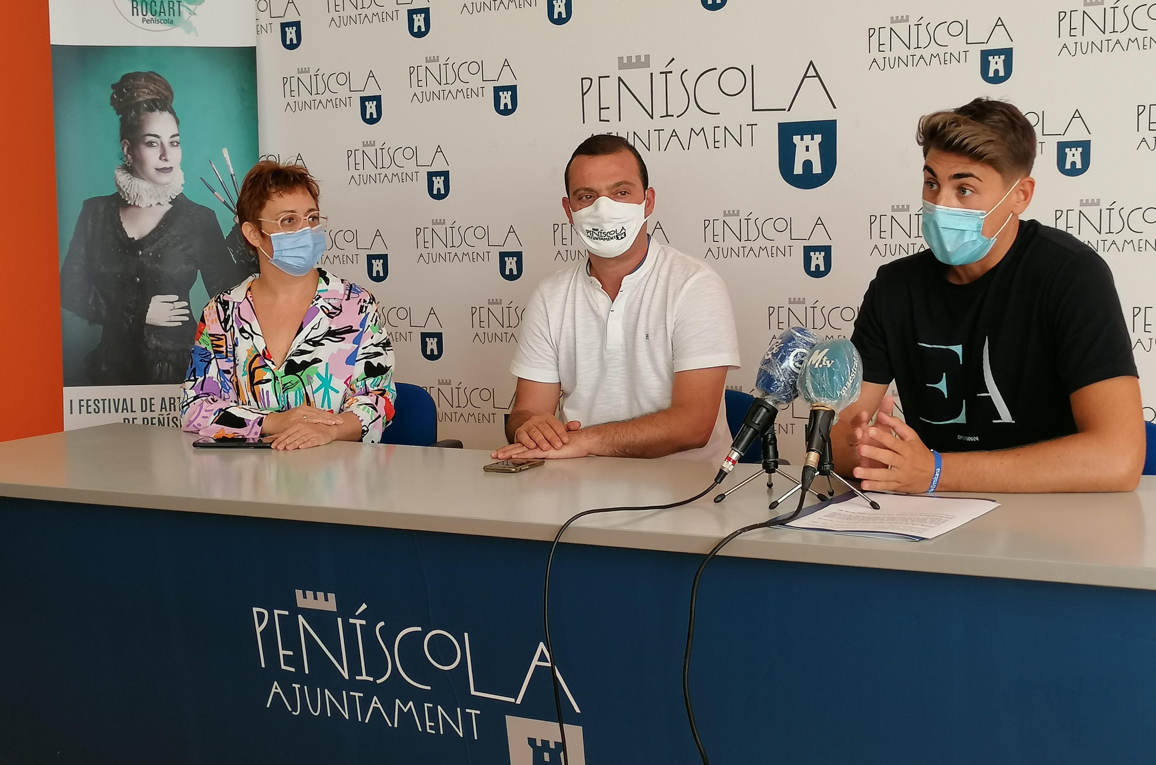 Peníscola es convertirà en un museu efímer amb el I Festival d'Art i CulturaRocartde setembre