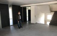 El Pla 135 de la Diputació ha permès a Santa Magdalena acabar pràcticament la segona planta de l'Edifici Social