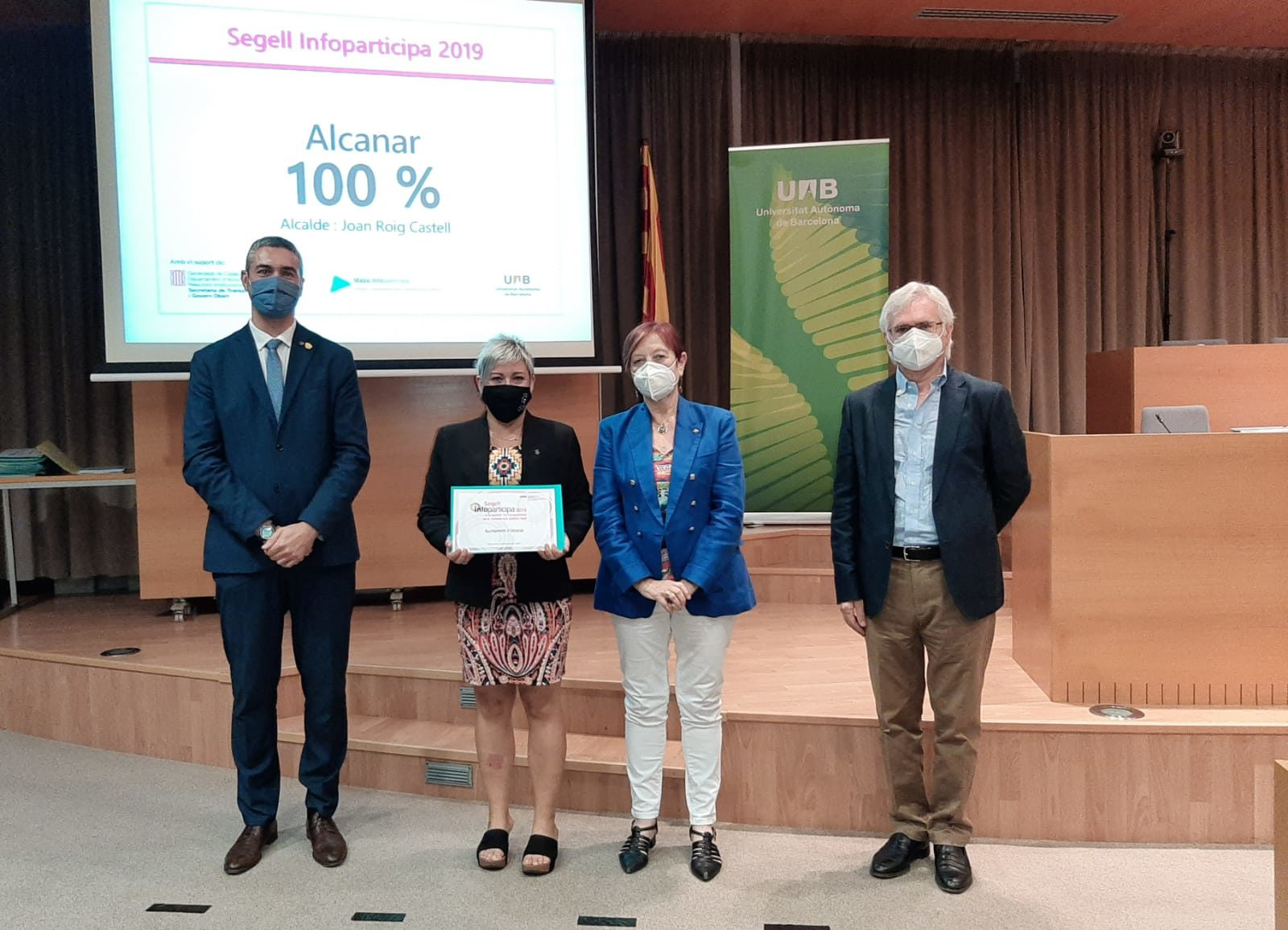Alcanar, l'únic municipi del Montsià que aconsegueix el Segell Infoparticipa amb un 100% de puntuació