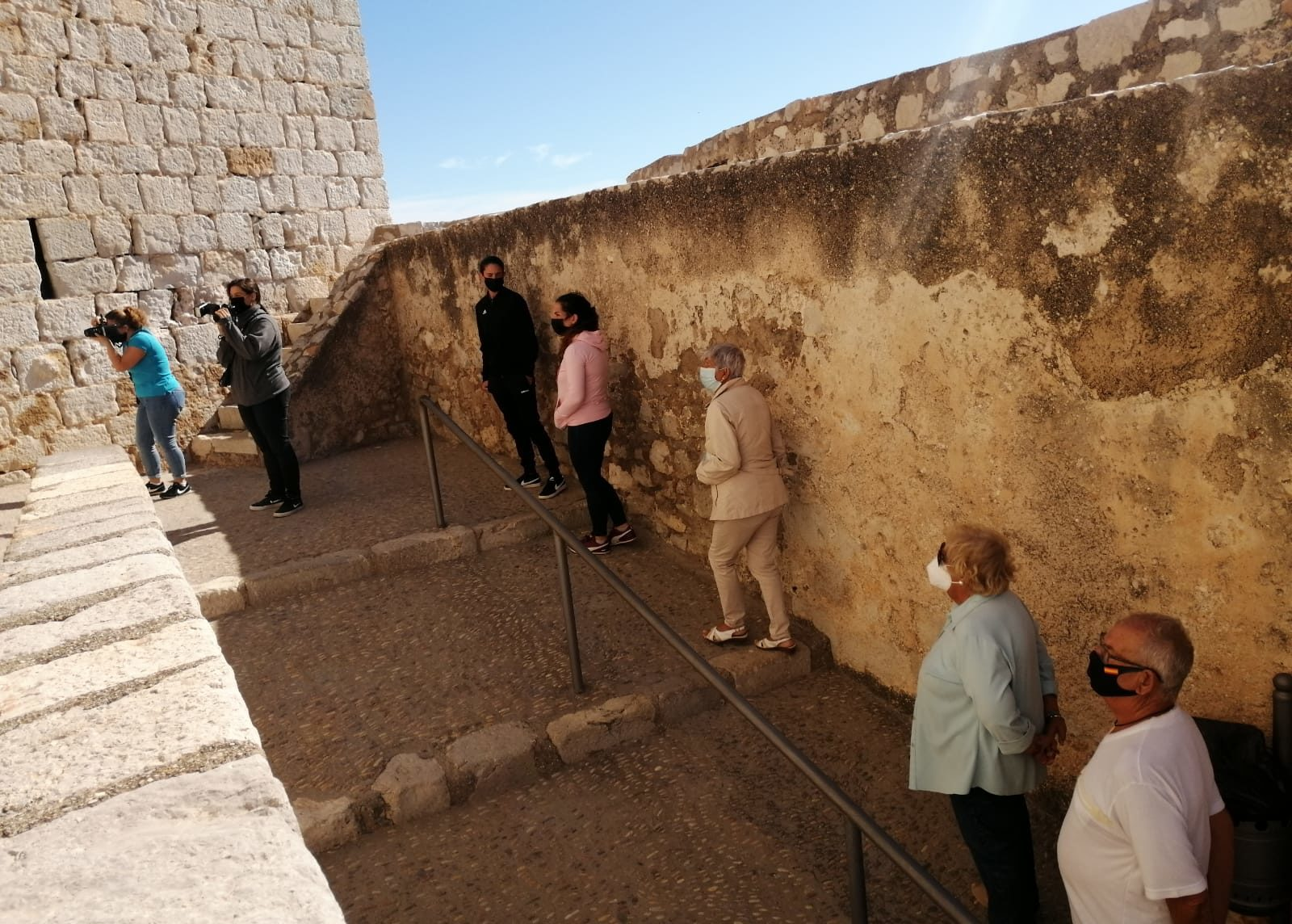 Més de 1.000 visites rep el Castell de Peníscola durant la jornada de portes obertes
